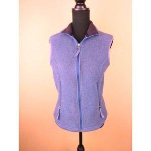 Patagonia Synchilla purple full zip vest
